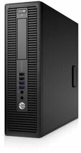 HP WINDOWS 10 PC 705 G1 SFF AMD A4 3.80GHz 4GB 500GB HDD WiFi NEW FULL SET