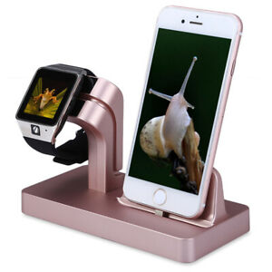 Muti-function Charging Dock Stand Station Charger Holder For iWatch iPhone