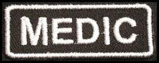MEDIC Iron On Patch/Badge for Nurse Medical Uniform Scrub T-Shirt Cap Bag 25P