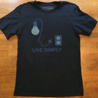Patagonia Live Simply Japan Tsunami Relief Mens T Shirt Sz S 2011 RARE