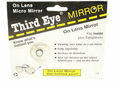Third Eye on the lens Mirror Gr8 for Cyclists, Joggers, Walkers ~ 3rd Eye
