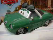 htf 2014 Disney Pixar Cars 2 CARINNE CAVVY∞Green;Sunglasses∞Race Fans✿LOOSE✿1:55