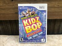 Kidz Bop Dance Party The Video Game (Nintendo Wii) COMPLETE - TESTED - FREE SHIP