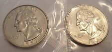 1997 P & D Washington Quarter Coin Set (2 Coins) *MINT CELLO*  **FREE SHIPPING**