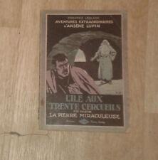 LEBLANC Maurice. L'île aux trente cercueils. 2e partie. Lafitte. 1922.