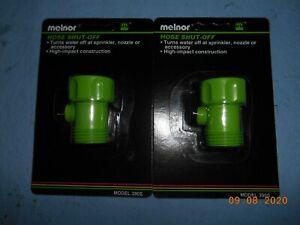 2 Packs Melnor 390S Hose Shut-Off Valve
