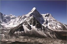 MT EVEREST photo poster BEAUTIFUL SCENIC mountain climbing RENOWNED 24X36