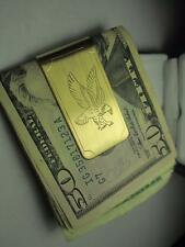 COLIBRI AMERICAN Eagle 23KT GOLD MONEY CLIP