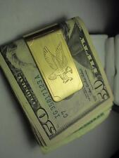 Gold Money Clip Colibri American Eagle 23Kt
