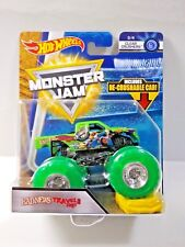 Hot Wheels Monster Jam Bad News Travels Fast Clear Crushers & Re-Crushable Car