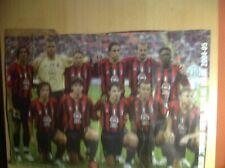 More details for ac milan legends team poster 2004-05 rare item
