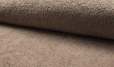 0,5 m Baumwoll-Teddy, sand, Teddy-Plüsch