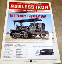 Ageless Iron Almanac Successful Farming 2016  February Tanks Inspiration  (
