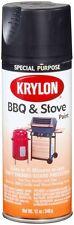 Krylon 1618 High Temperature Black BBQ and Stove Spray Paint