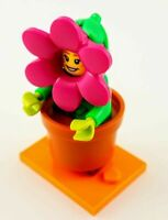 Lego Flower Pot Girl  mnifigure Series 18 Minifigure new!