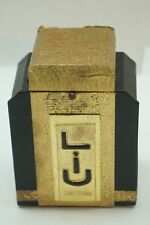 ANTIQUE PERFUME GUERLAIN LIU BLACK BOTTLE STOPPER PRESENTATION BOX EMPTY 1929
