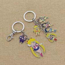 Tasche Schlüsselanhänger Geschenk Anime Sailor Moon Keychain Usagi Tsukino Luna
