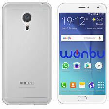 Funda Carcasa Transparente Silicona Para Meizu MX4 M461U China Mobile