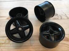 Revolution Bearing Wheels Black  V12 1:12 Hot Rod Saloon Stock 1300 Kamtec