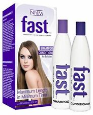 NISIM FAST (SULFATE-FREE) 2 X HAIR GROWTH SHAMPOO & CONDITIONER (FREE SHIP'N)