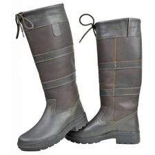 HKM Belmond Winter Riding Yard Country Boots Oiled Insulated Leather  UK 4 - 8