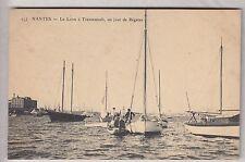 CPA  NANTES 44  -  TRENTEMOULT BATEAU REGATE VOILIER SAIL SHIP SUR LA LOIRE ~B41