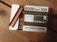 PUNTI CUCITRICE ROCAMA mod. 105 FOREST (h.mm.5) cf.5000 PER LEGNO