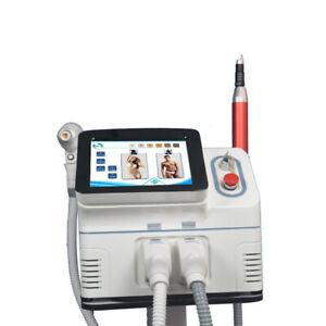 800W / 1200W 808nm 3 wavelength Diode picosecond laser tattoo removal machine