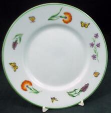 Tiffany TIFFANY GARDEN Bread & Butter Plate Bone China Rare GREAT CONDITION