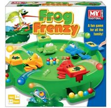 Frog Frenzy Family Board Game Children Kids for Toy 2 - 4 Players- 3 Years