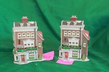 Dept. 56 Dickens Village Series Crown & Cricket Inn Building