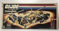Vintage Hasbro 1986 GI Joe Tomahawk With Figures Lift Ticket Helicopter Vehicle