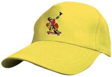 enfants baseballcap Casquette Capuchon perforé jaune SKATER Skateboard 69130