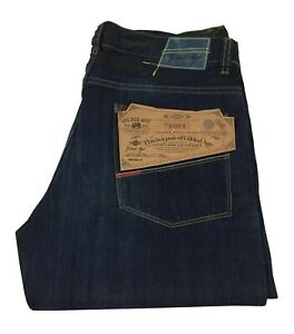 GILDED AGE Men's Jeans Made IN Italy Mod. GA1011-DR W 100% Cotton