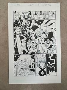 2018 Marvel RYAN OTTLEY Original Comic Art AMAZING SPIDER-MAN Vol 5 #25 Page 10