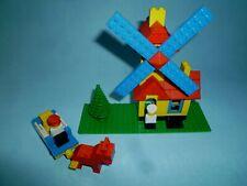 Lego 004 70er Weetabix Windmühle mit Mini Figuren komplett 70s windmill vintage!