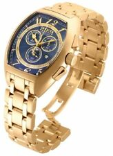Invicta 17282 Reserve Specialty Chronograph Gold Tone SS Blue Dial Ladies Watch