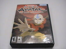 Avatar The Last Airbender 2006 PC Game CD-ROM in DVD Type Case DISC = MINT