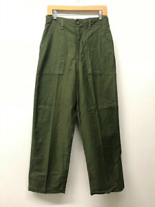 NOS OG107 Fatigue Pants OD Army Pants W30 x L30 No Tag 1960s-70s US Army M-27