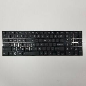 Genuine Toshiba Satellite Pro L850 C850 Series Laptop Keyboard Black H000037120