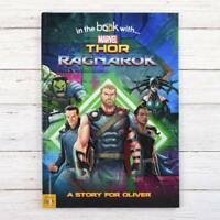 Personalised Photo Thor Ragnarok Children's Book Marvel Softback name in Story