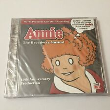 Annie: The Broadway Musical 30th Anniversary Production NEW Sealed Audio CD