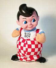 1990's Big Boy Stuffed Figure with Vinyl Head by Nanco - 9-1/2 in tall