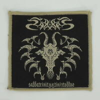SABBAT Sabbatrinity (Woven Small Patch - Black/Beige) (R.I.P. Records) (New)