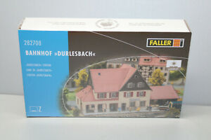 FALLER 282708 Building Kit Railway Station Durlesbach Lasercut Z Gauge Boxed