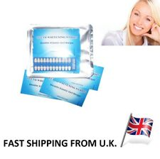 28 TEETH WHITENING STRIPS Professional Best 3D Whiter White Safe 14 Pouches...