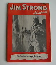 Jim Strong (Jim Strong, deutsche Ausgabe, Pfg.) Nr. 1-35 kpl. (Z1-2)