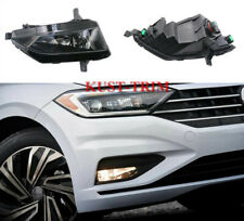 FIT For VW Jetta Mk7 2019 Front Bumper Left & Right Fog Lights Lamp Assembly