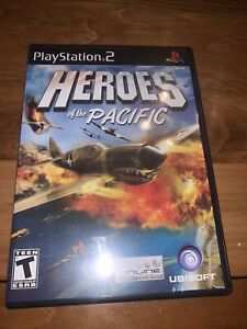 HEROES OF THE PACIFIC PS2 WAR GAME - Sony Playstation 2 TESTED