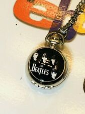 The Beatles Necklace Pendant Chain Watch Working